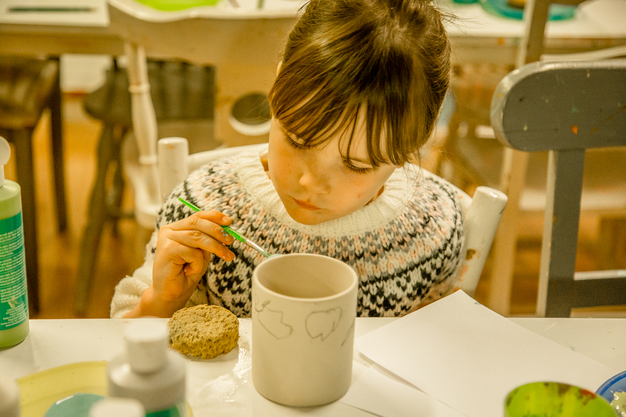 mug ceramic painting